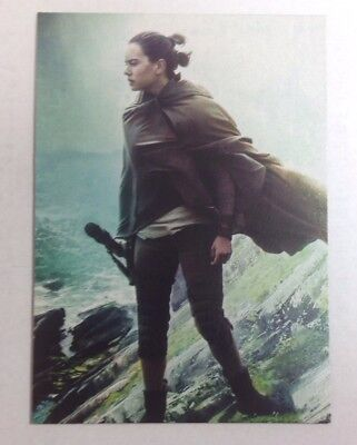 2017 TOPPS STAR WARS JOURNEY TO THE LAST JEDI REY CONTINUITY CARD #1 of 5