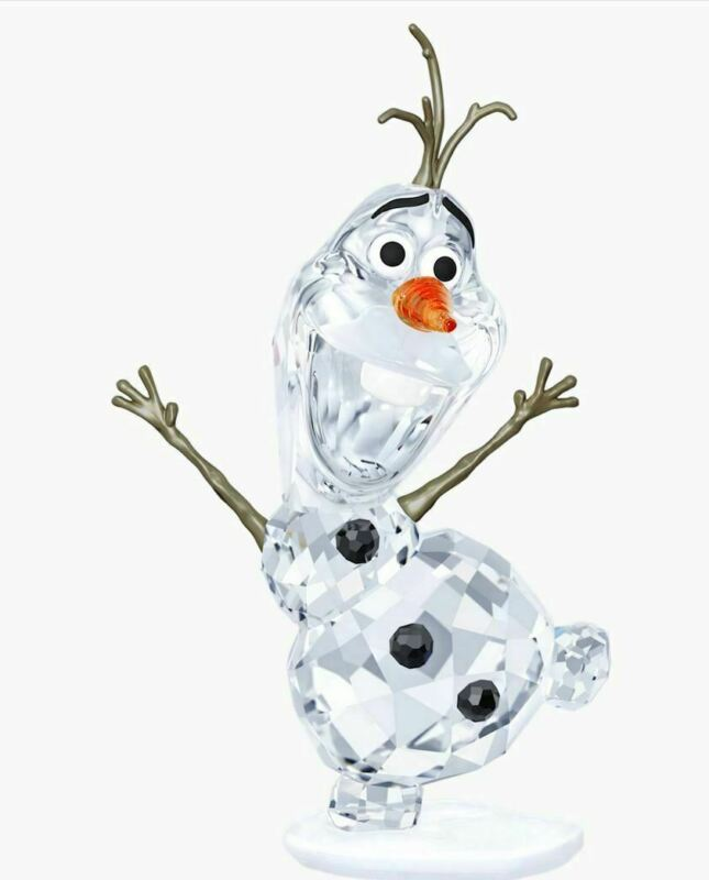 New in Box Swarovski Disney Figurine Collectible Frozen Character Olaf #5135880