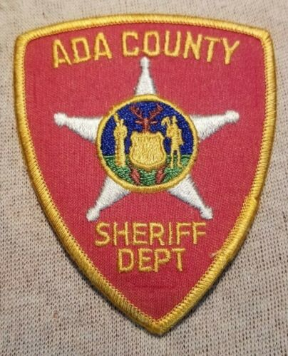 ID Ada County Idaho Sheriff Patch