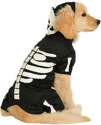 Bones Glow in the Dark Skeleton Hoodie Fancy Dress Halloween Pet Dog Cat Costume](Dogs Dressed In Halloween Costumes)