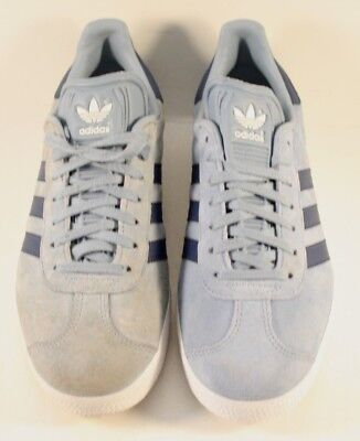 3f195f2fa Adidas Blue Suede Gazelle Originals Casual Shoes Trainers Womens Size US 6M