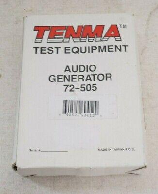 72-505 Signal Generator Audio Handheld 1 Channel 150khz Am