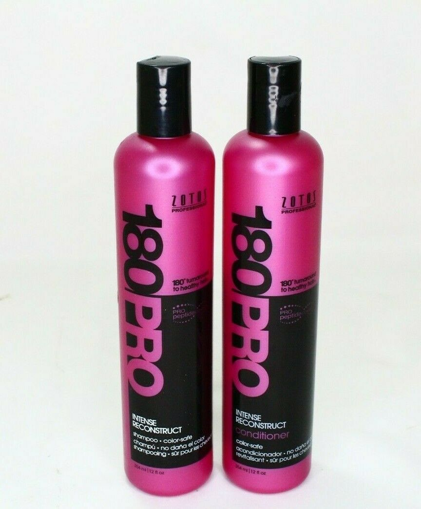 zotos pro180 intense reconstruct shampoo and conditioner