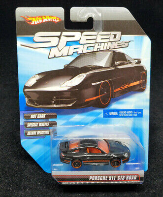 Hot Wheels Speed Machines - Porsche 911 GT3 Road - Black