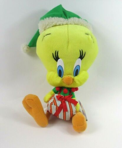 "Nanco 12"" Christmas Caroling Looney Tunes Tweety Bird Plush Stuffed Animal Gift"