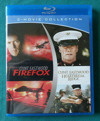 Firefox / Heartbreak Ridge (Blu-ray 2-disc set) Clint Eastwood