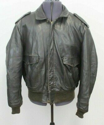 VINTAGE  SCHOTT  LEATHER FLYER / PILOT JACKET