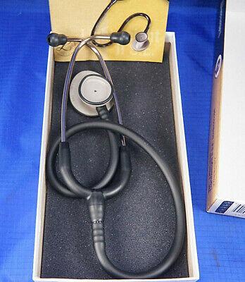 3m Littmann Lightweight Ii Se Nurses Stethoscope Black 28 Tube 2450 38u80