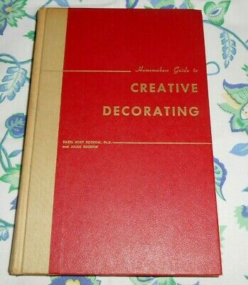 1950s 1952 Homemakers Guide to Creative Decorating MCM + Colonial Revival Book