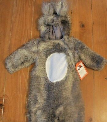 NWT Pottery Barn Kids WOODLAND BABY SQUIRREL Halloween Costume Faux Fur 0-6 - Squirrel Baby Costume