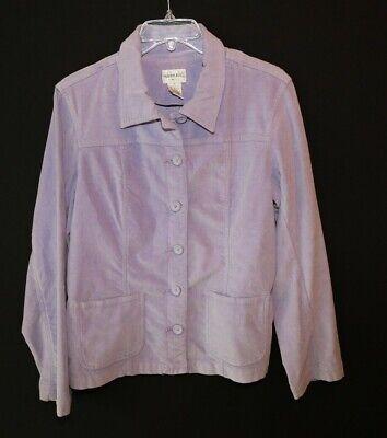 FASHION BUG STRETCH MOLESKIN SHIRT JACKET SZ MEDIUM (Moleskin Shirt Jacket)