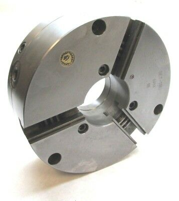 Bison 10 Set-tru 3-jaw Lathe Chuck W Plain Back Mount