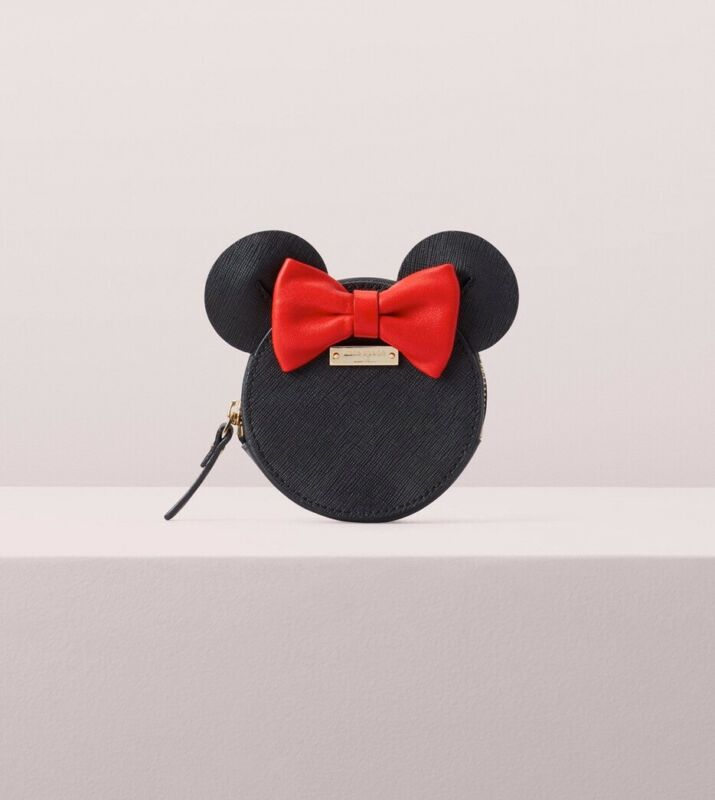 NEW Kate Spade Minnie Mouse Leather Coin Purse - Disney