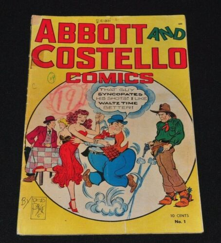 Abbott and Costello Comics 1 1948 St. John