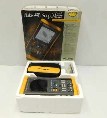 New Fluke 99b Series Ii Scope Meter Scopemeter E16-770