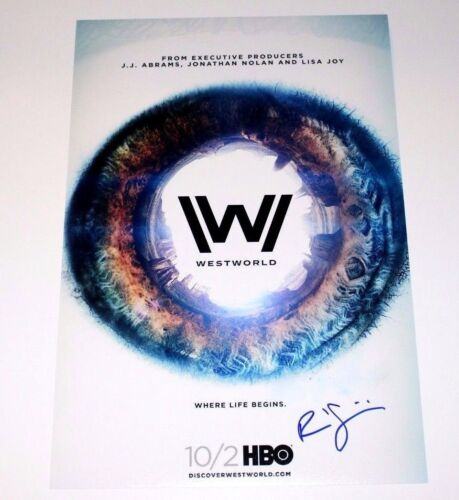 WESTWORLD COMPOSER RAMIN DJAWADI SIGNED 12x18 SHOW POSTER PHOTO W/COA C