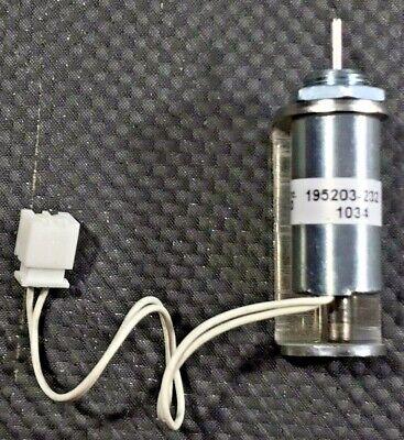 Saia Burgess Tubular Push Solenoid 195203 Ledex Sta Cage 81840 - 12v 9.56ohm