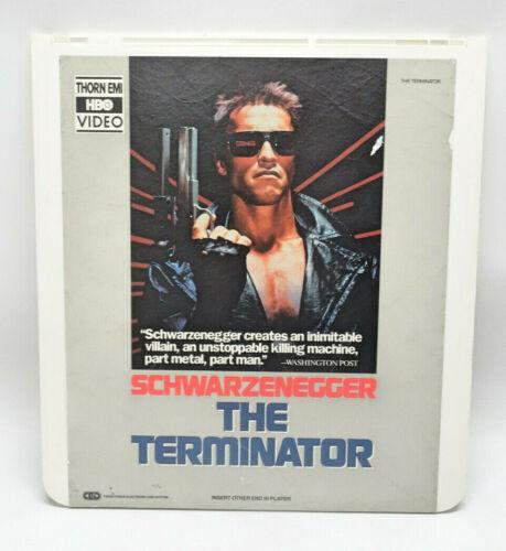 """THE TERMINATOR"" VIDEO DISC ~ THORN EMI HBO VIDEO ~ CED"