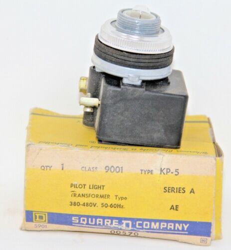SQUARE D 9001 KP-5 Pilot Light Transformer No Lens 380-480V 50/60HZ Series A New