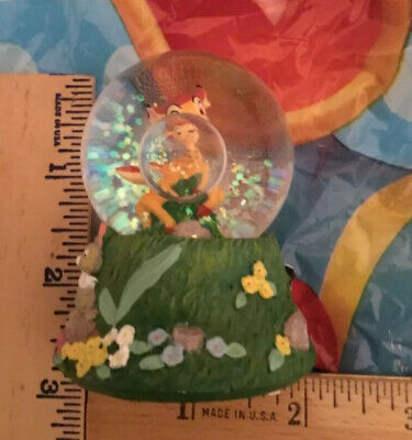 NWT The Disney Store BAMBI Mini Snow Globe with Glitter