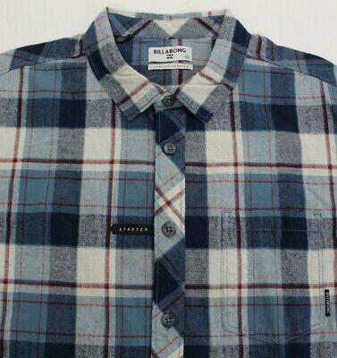 Billabong Coastline Shirt Flannel Mens Size Large L
