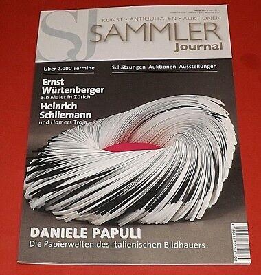 Sammler-Journal Magazin Nr. 02/2018 - Kunst Antiquitäten Auktionen ungelesen