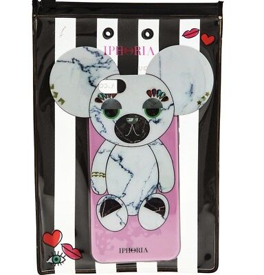 IPHORIA Pink Marble Teddy Bear Phone Case iPhone 6/6s