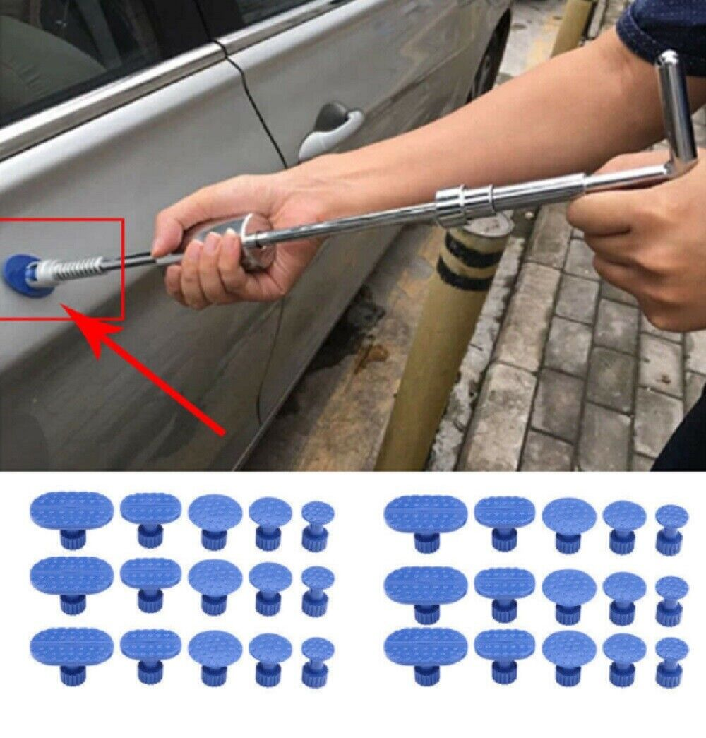 30Pcs Car Door Body Pulling Tab Dent Removal Repair Tool Puller Tabs Accessories Automotive Repair Kits