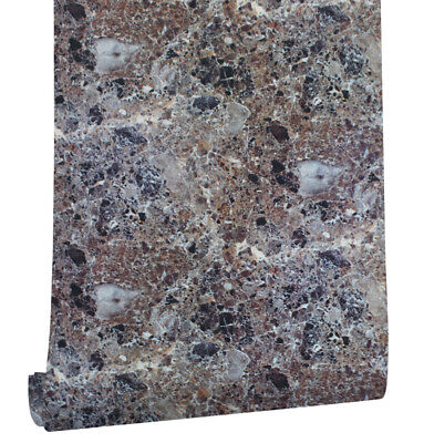 Peel and Stick Faux Marble Wallpaper Chocolate/Black kichen Contact Paper ](Faux Marble Contact Paper)