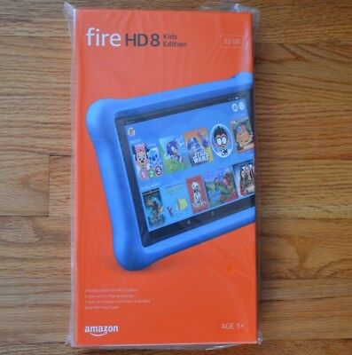 BLUE | Amazon Fire HD 8 Kids Edition Tablet 8 Display 32GB 7th Gen