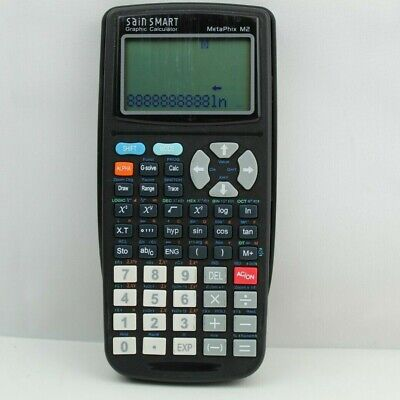 Sainsmart Metaphix M2 Graphing Calculator In Black Graphic Tested Working