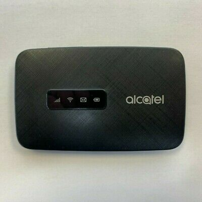 Unlocked AT&T T-Mobile GSM Alcatel MW41TM Linkzone 4G LTE WiFi Hotspot - Black