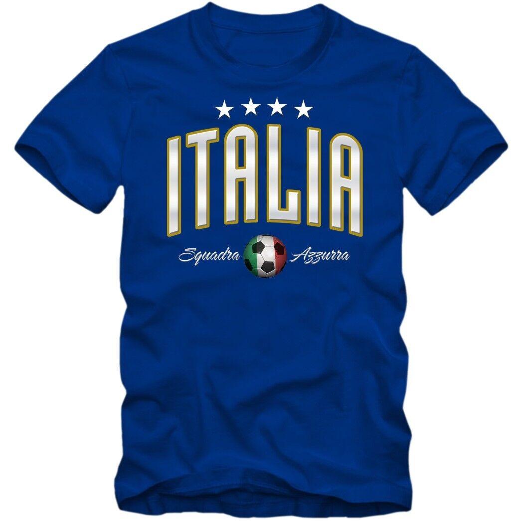 Herren Fußball ITALIA Italien Squadra Azzurra Europameister T-Shirt EM S-3XL