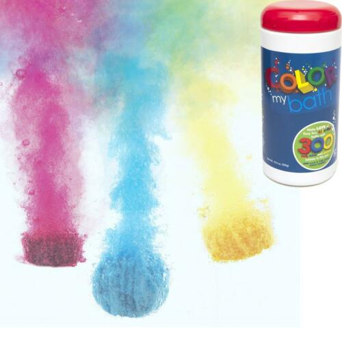 Color My Bath 300 Tablet Tub Colour Changing Bathtub Fizz Drops Childrens Toy