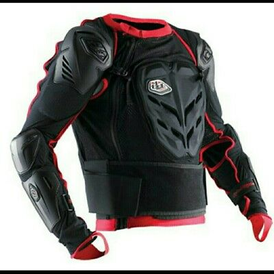 """Troy Lee Designs """"Rincon"""" Body Armour Jacket XL Black/Red🔥New🔥"""