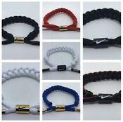NIKE Unisex Shoelace Bracelet / Wristband 7 To Choose Fro