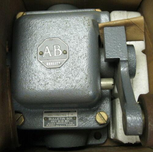Allen-Bradley 801-ASC1411 Rocker Arm Limit Switch Series A