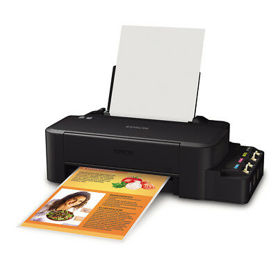 NEW EPSON L120 Inkjet 4-Color Ink Tank System (ITS) Compact Printer with (Epson Inkjet Printer Ink)