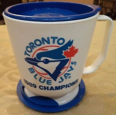 1989 Champion Roster Toronto Blue Jays Coffee Travel Mug Brand New