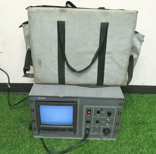 Cues sewer pipeline inspection equipment. Proscout PCU PC-300