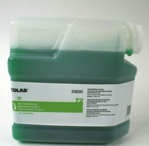 Ecolab QC 72 Odor Counteractant - 1.3 L (0.34 US GAL)