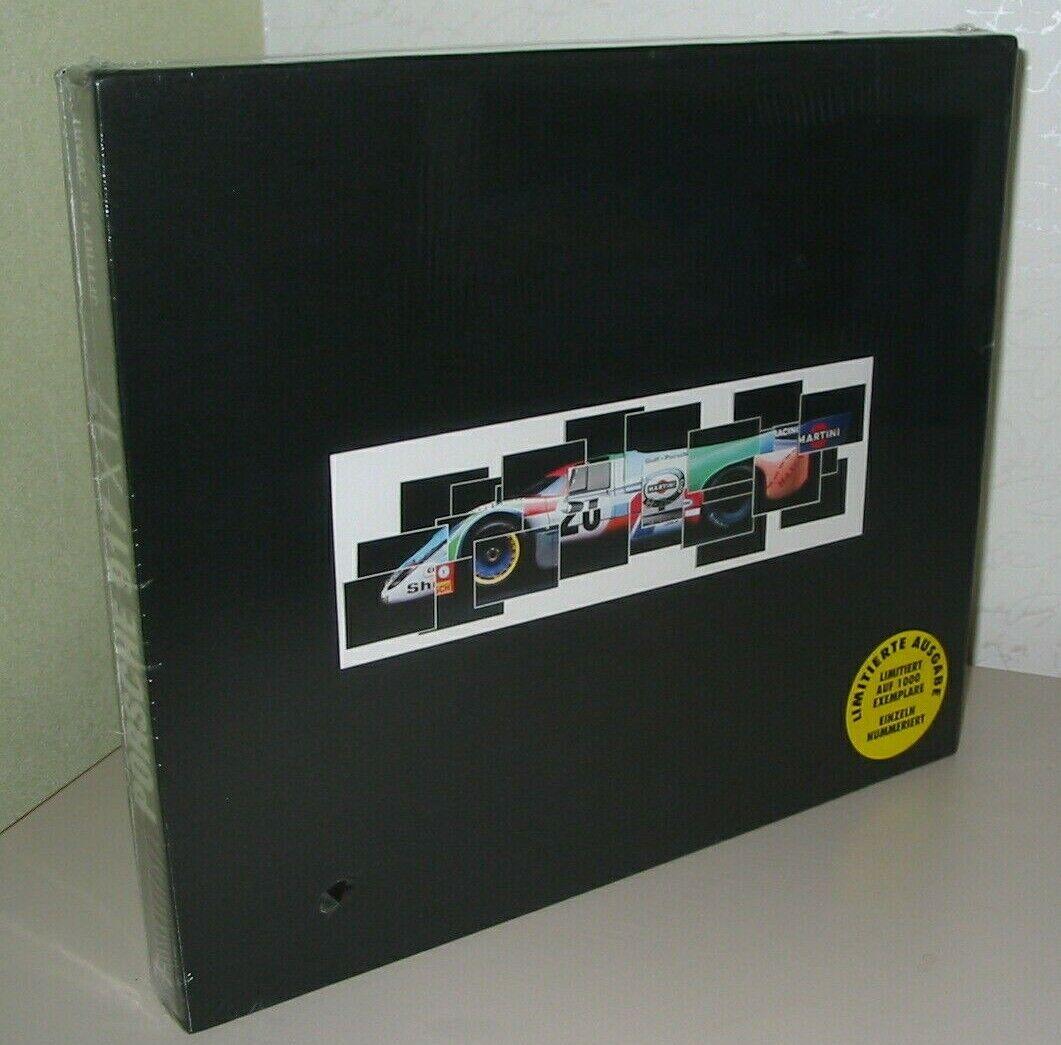 Bildband Porsche 917 x 17 Prachtband limitierte Auflage Buch Rarität Neu!