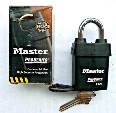 Master Lock Number 6621 Proseries Shrouded Rekeyable Padlock Schlage Keyway