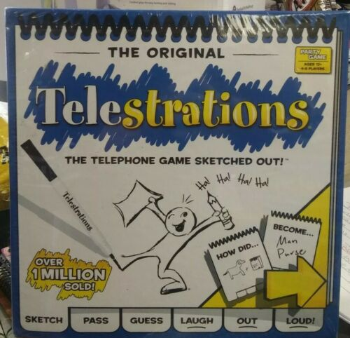 USAopoly Telestrations Original 4- 8 Player Board Game Brand