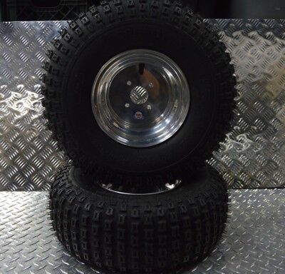 2004 Polaris Predator 500 Front Wheels Rims and Tires 21x7-10 03 04 OEM #1
