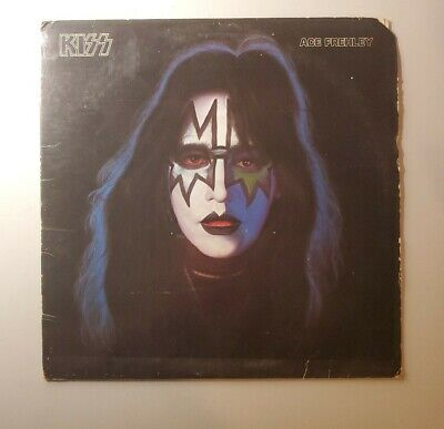 KISS ACE FREHLEY solo SELF TITLED LP RECORD vinyl