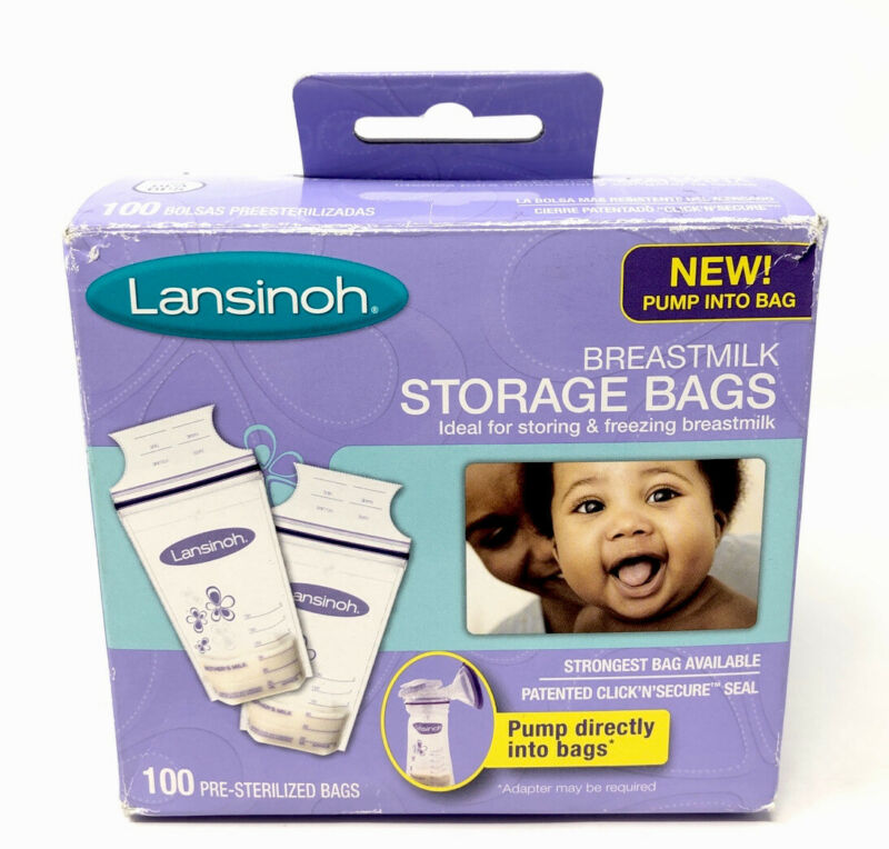 Lansinoh Breastmilk Storage Bags 100 ct BG20470CT1016 🚚FREE📦