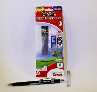 Pentel Pencil Lead And Eraser Combo