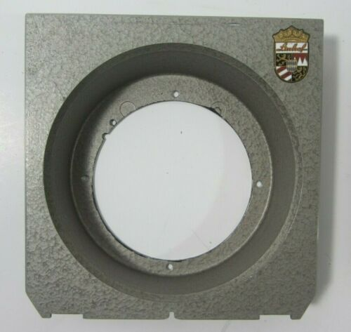Linhof Technika 4x5 Recessed Lens Board Plate 60mm Hole