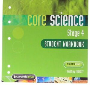 Core Science Stage 4 Student Workbook '  Thickett